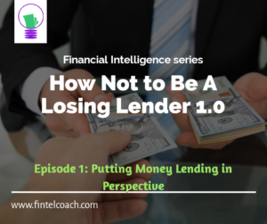 How Not To Be A Losing Lender 1.0