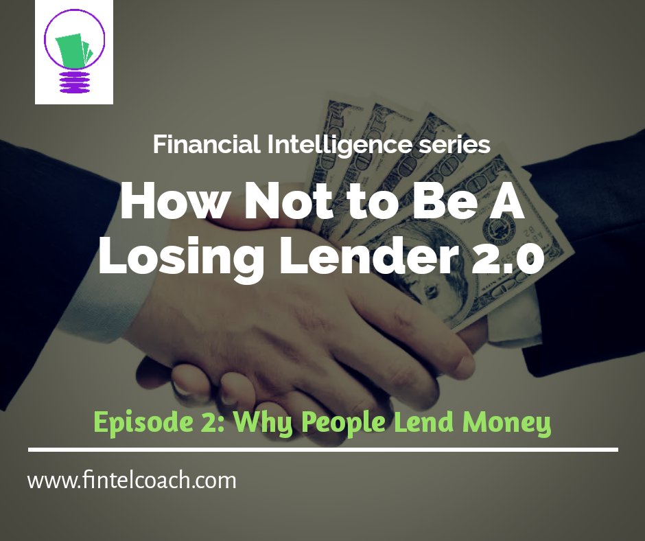How Not To Be a Losing Lender 2.0