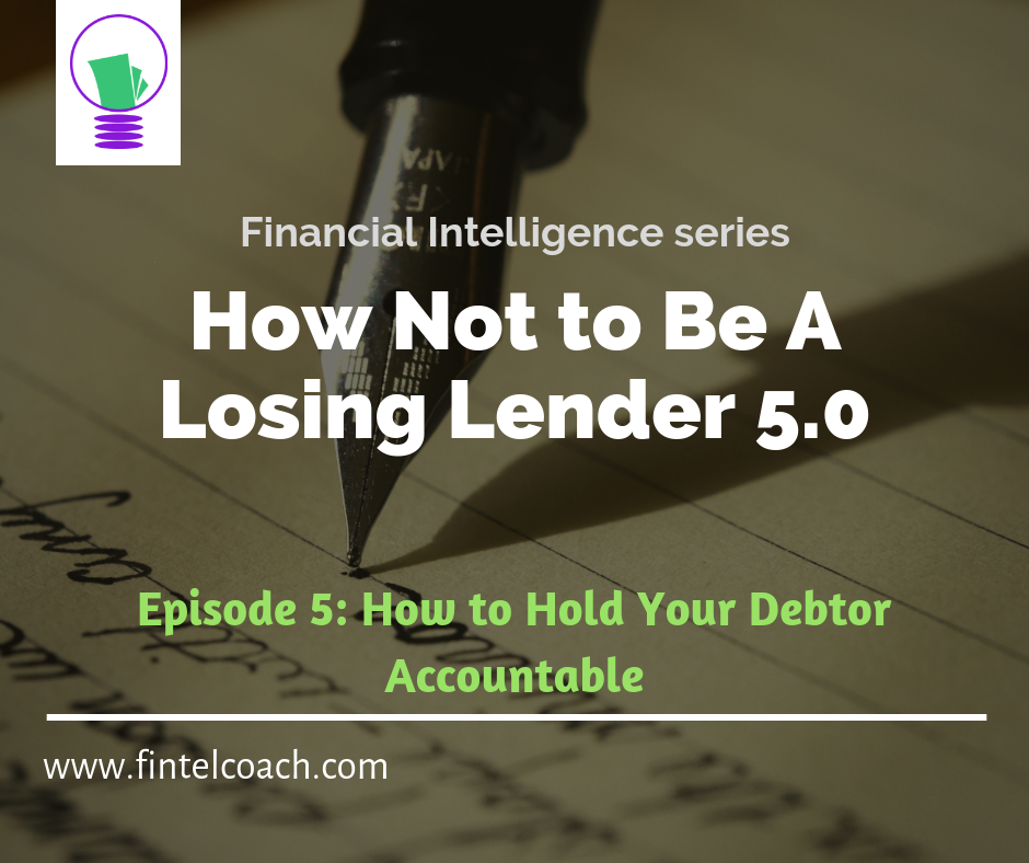 How Not To Be a Losing Lender 5.0