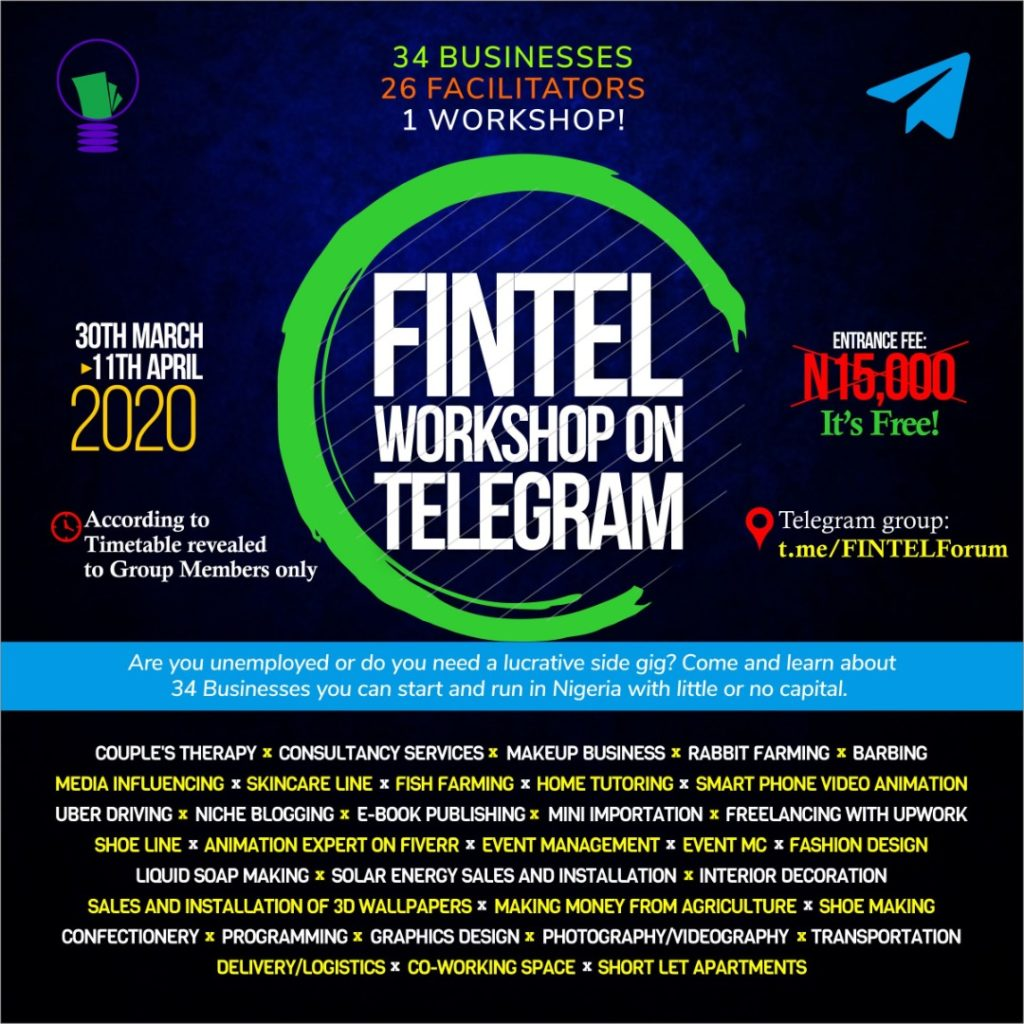 Businesses, FINTEL Workshop