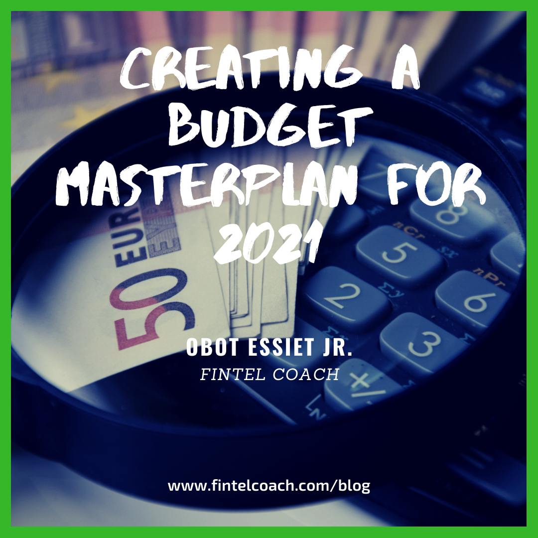 Creating a Budget Masterplan for 2021